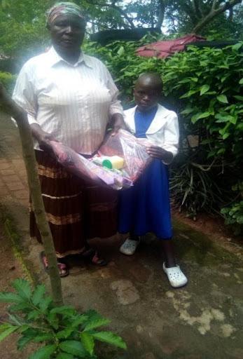Saida and her grandmother